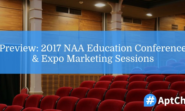 Preview: 2017 NAA Education Conference & Expo Marketing Sessions