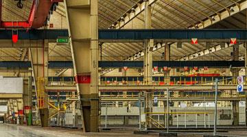 hala produkcyjna przemysłowa