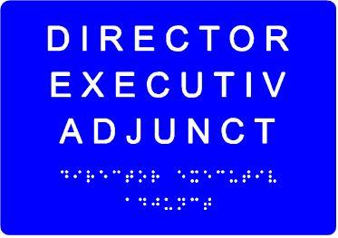 plăcuță tactilă indicare funcție serviciu 3 cuvinte