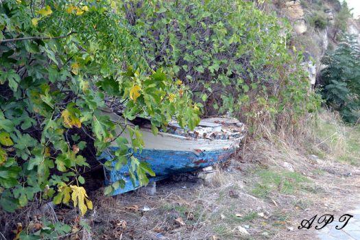 φωτογραφία 4ου κουίζ: Μία βάρκα στην Καβάλα