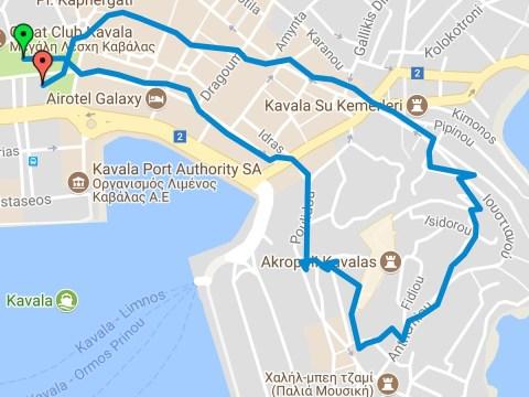 Βόλτα με σκαλάκια -- χάρτης