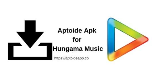 Aptoide Apk for Hungama Music App