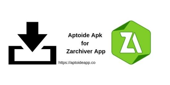 Aptoide Apk for Zarchiver App