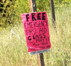Monte Toyon Free First Aid