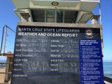 Santa Cruz Lifeguards Weather and Ocean Report