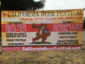 Aptos Hosts California Beer Festival, August 9-10