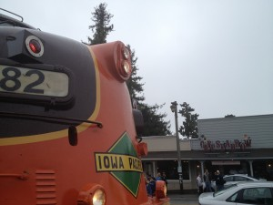 Iowa Pacific Train in Aptos