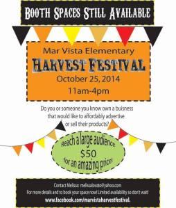 Mar Vista Elementary Harvest Festival October 25th