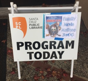 Aptos Library Movie Maintee