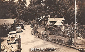 Redwood Village Aptos Circa 1920s