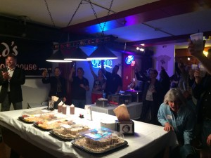 Seacliff Neighbors Toast Jim Hart