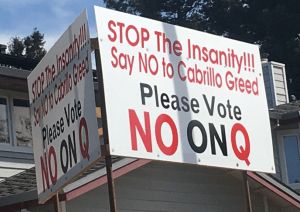Measure Q Has Significant Opposition