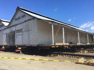 Hihn Apple Barn on the Move