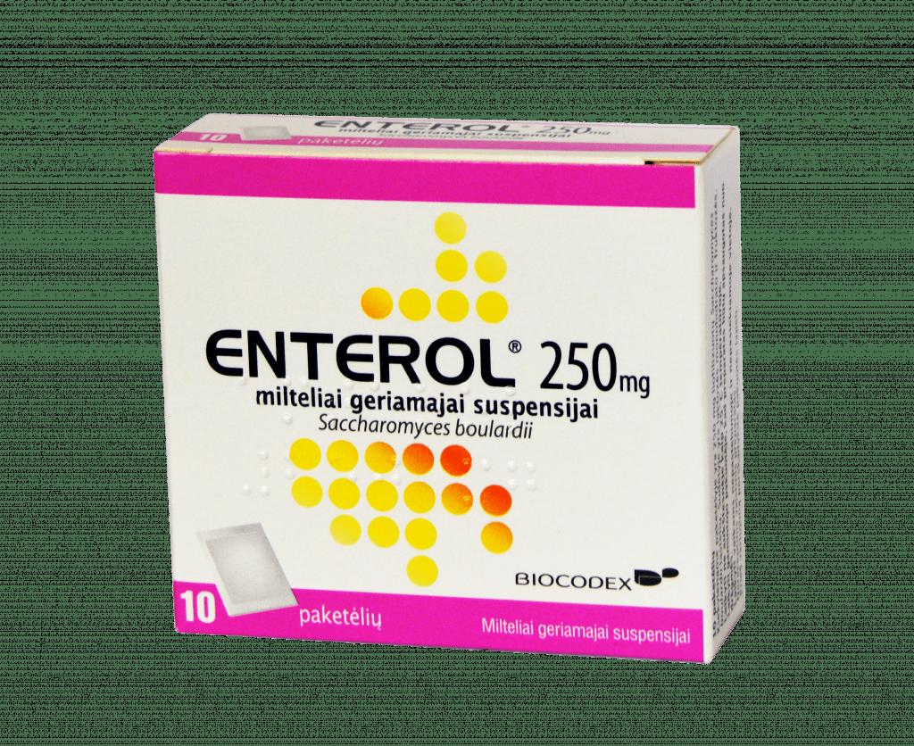Enterol: für was und wie man es nehmen soll