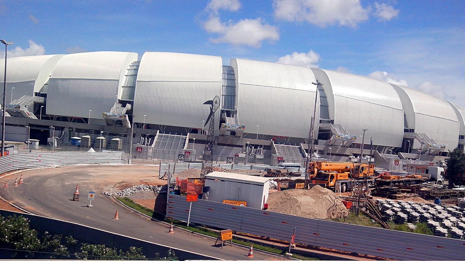 Estádio Arena das Dunas: PPP criticada pelos potiguares
