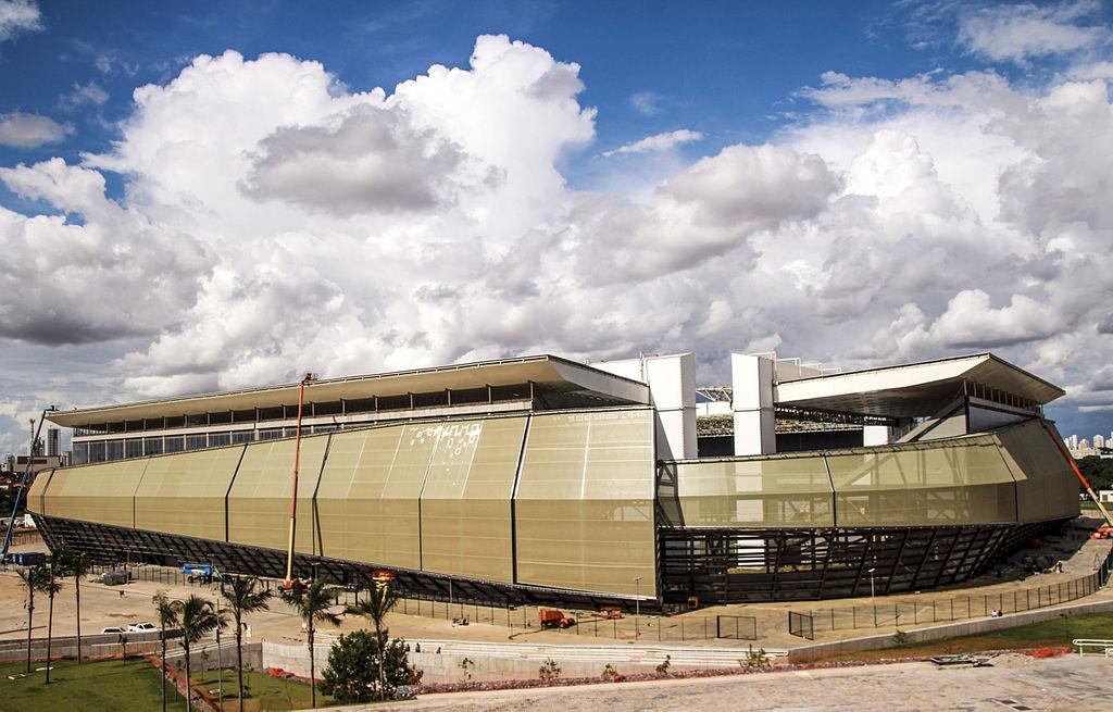 A Arena Pantanal será inteira bancada com dinheiro público: o governo do MT fez um empréstimo de R$ 337,9 milhões com o BNDES e, além disso, já pagou R$ 286,3 milhões. (Foto: Portal da Copa)