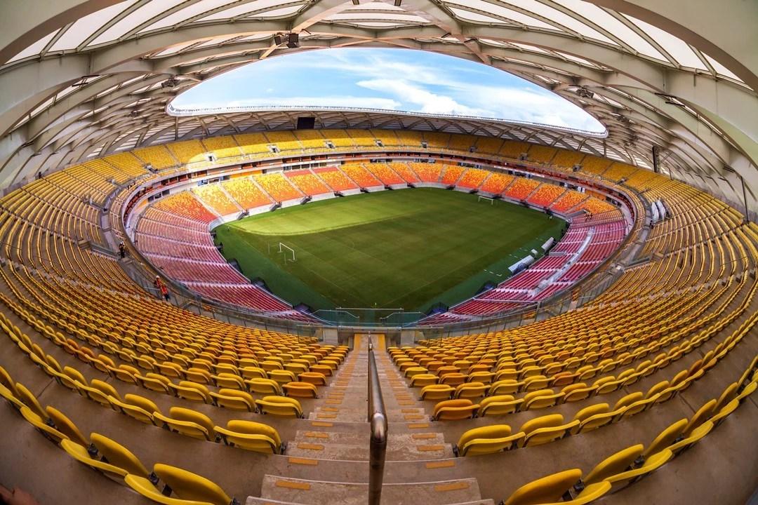 Em 2010, TCE-AM afirmava que orçamento inicial da Arena Amazônia, de R$ 499 milhões,não passava de faz-de-conta (Foto: Portal da Copa)
