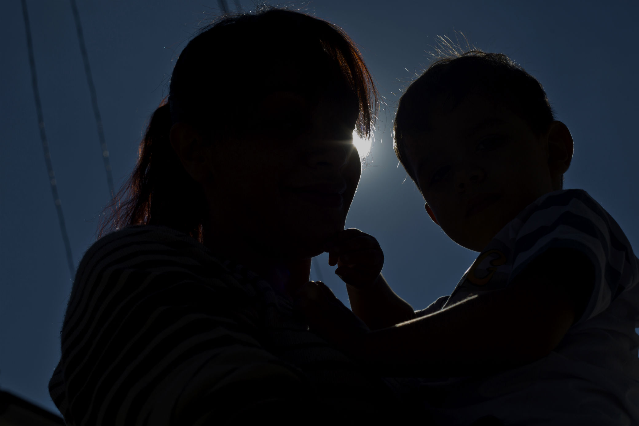 Clarice e seu bebê / Foto: Ruy Fraga
