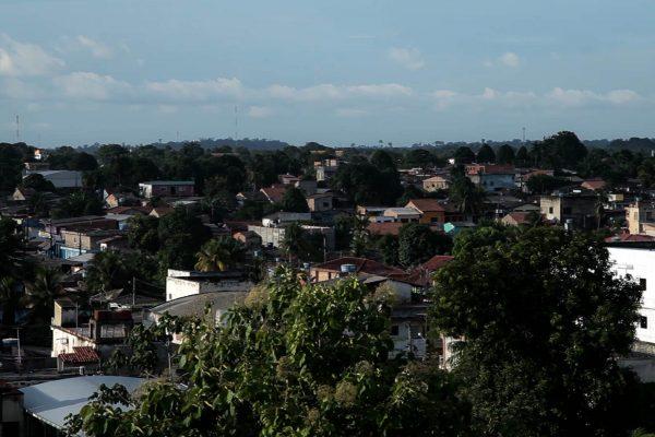 Itaituba é o principal pólo urbano do médio Tapajós, região que concentra projetos estratégicos para o agronegócio. Foto: Marcio Isensee e Sá