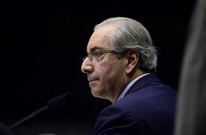 O presidente da Câmara, Eduardo Cunha (PMDB-RJ), que aceitou pedido de impeachment contra a presidente Dilma Rousseff (PT).