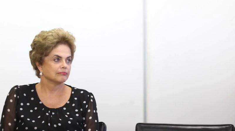 A presidente Dilma Rousseff (PT)