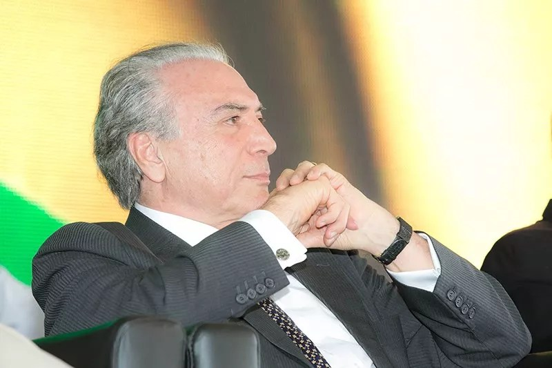 O vice-presidente Michel Temer (PMDB).