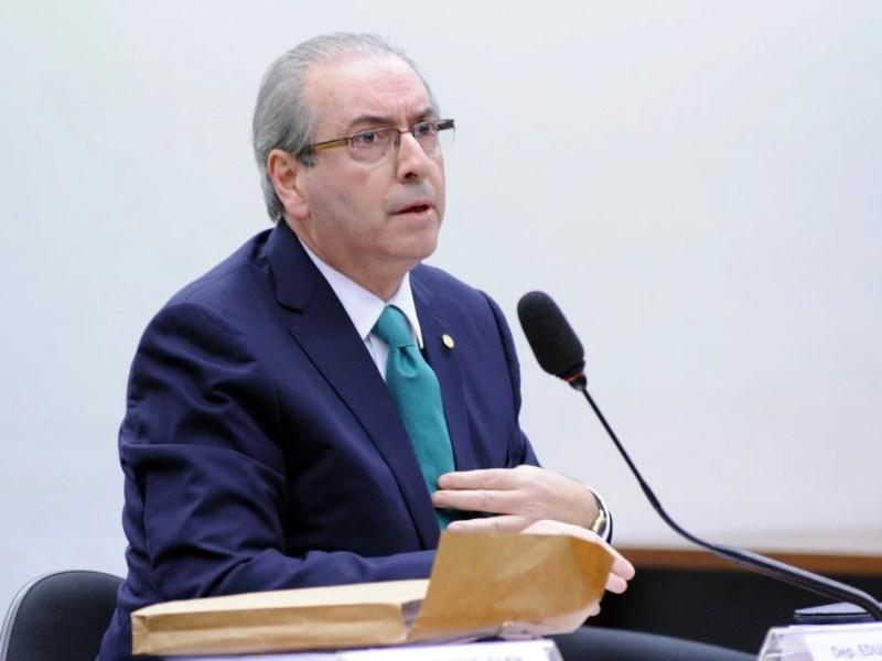 O deputado afastado, Eduardo Cunha (PMDB-RJ).