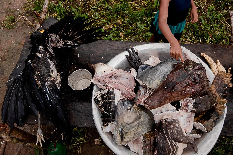 Abundância da caça, mas com moderação, pediu Juventino (Foto: Ana Mendes)
