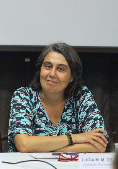 "Lúcia Andrade: ""A empresa tem pressa"" (Foto: Carlos Sampaio/Comissão Pró-Índio)"