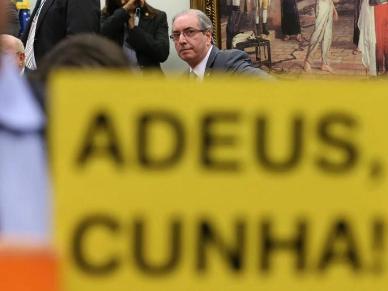 Sessão da CCJ que não aceitou os recursos do deputado Eduardo Cunha