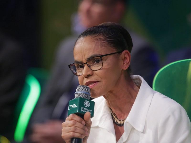 Marina Silva participa de evento da CNA, em agosto de 2018: não há estudos que confirmem dado citado pela candidata