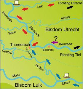 kaart thuredrech eo 1049