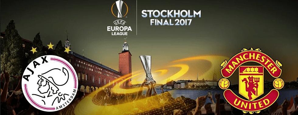 Apuestas final Europa League 2017Ajax vs Manchester United buscarán un título para solucionar la temporada