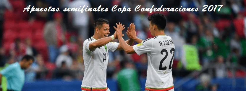Apuestas semifinales Copa Confederaciones 2017Portugal-Chile y Alemania-México en busca de la final