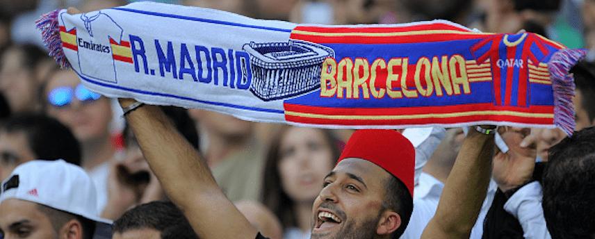Barca y Madrid al 50% para ganar la liga 2017/18Las casas de apuestas no tienen claro quien es el favorito a conquistar el título