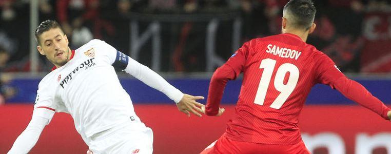 Spartak Moscú-Sevilla: 3 puntos oroEl triunfo del Sevilla a cuota 1,75 en Paf