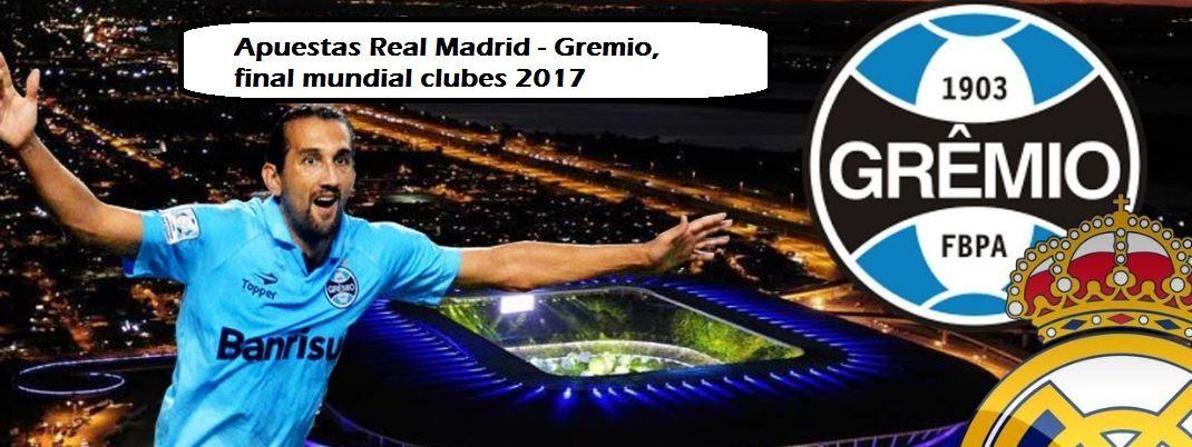 Real Madrid-Gremio, apuestas final clubesEl Real Madrid buscará el primer título de la temporada en Abu Dabi