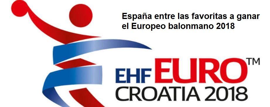 Apuestas europeo balonmano 2018Francia es la máxima favorita a llevarse el título