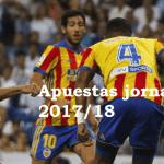Pronósticos jornada 34 Liga