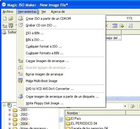 Magic ISO Maker