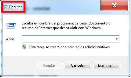 Lista de comandos para ejecutar en Windows