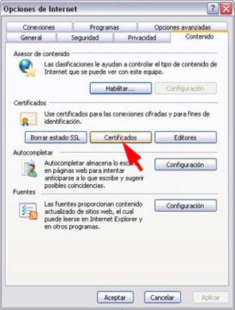 Firma digital exportar Importar _2