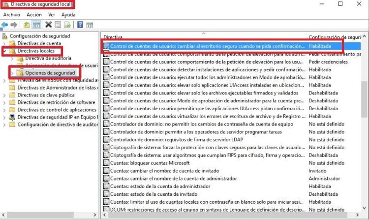 Activar_desactivar UAC en windows 7_8_10