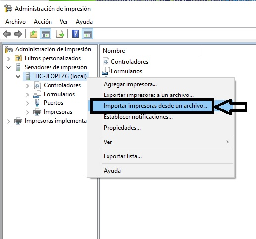Migrar impresoras en Windows_5