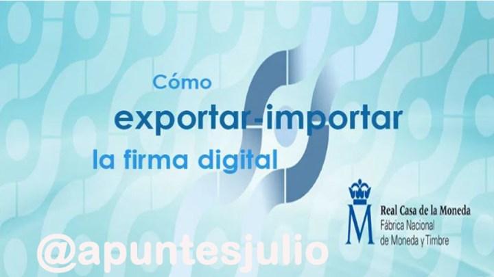 Copia del certificado electrónico en Internet Explorer (Windows)
