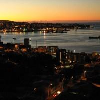Valparaíso: Capturas al anochecer