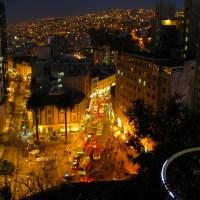 Noche en Plaza Aníbal Pinto