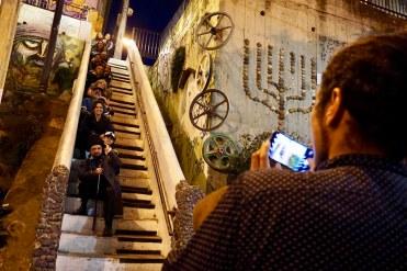 La escalera piano, cerro Concepción