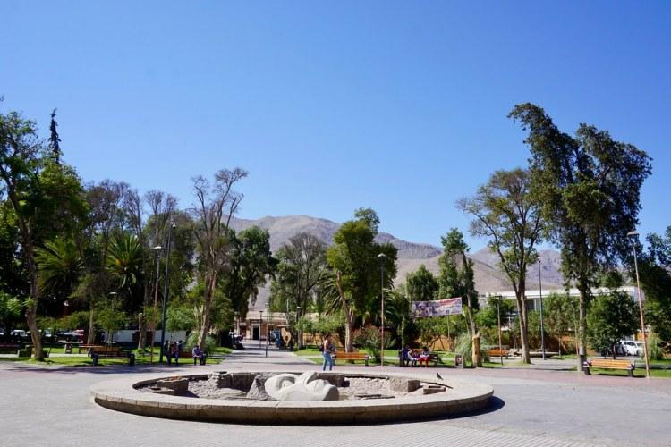 Plaza de Armas de Vicuña
