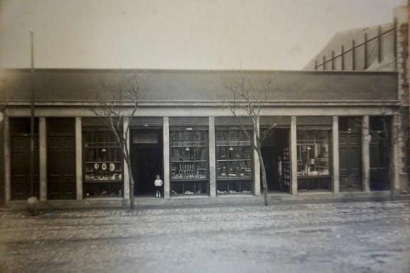 Fotografía del antiguo Almacén San Pablo